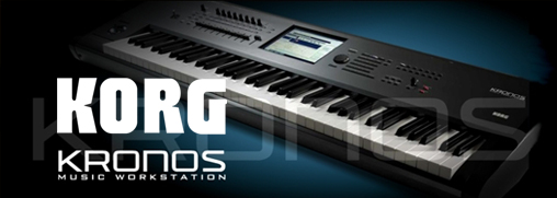.KORG - Kronos Music Workstation.